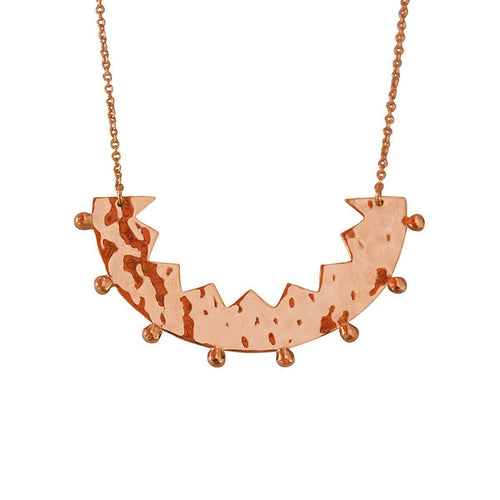 Frida Rose Gold Necklace-Necklaces-Murkani Jewellery-JewelStreet