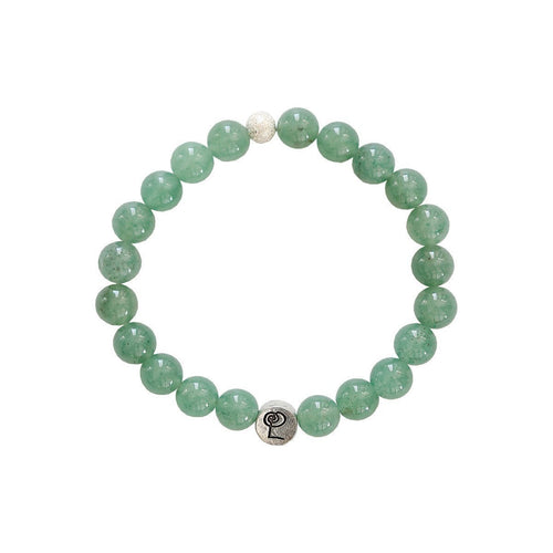 Healing Aventurine Bangle-Necklaces-Lucy and Penny-JewelStreet
