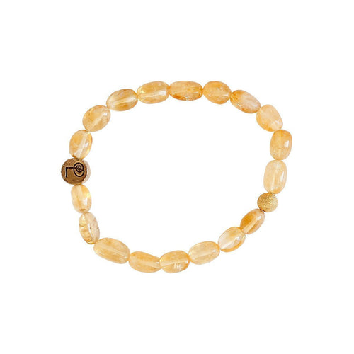 Healing Citrine Bangle-Bracelets-Lucy and Penny-JewelStreet