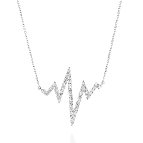 Heart Beat Necklace-Necklaces-SHARON Fine Jewelry-JewelStreet