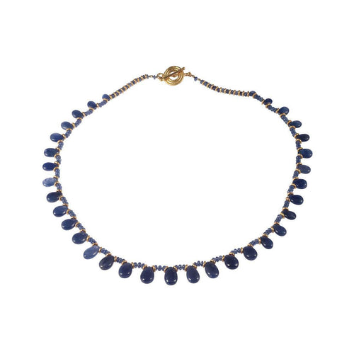 Homage In Blue Necklace ,[product vendor],JewelStreet