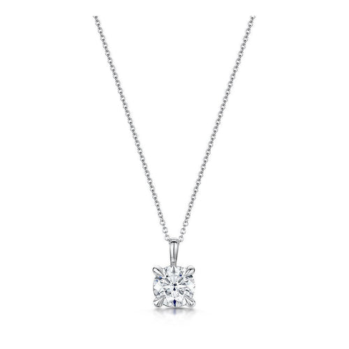 Honour Brilliant Cut Diamond Pendant-Necklaces-ROX - Diamonds and Thrills-JewelStreet