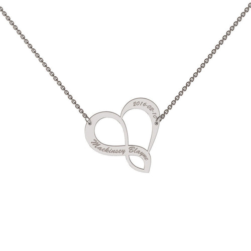 Infinite Love Necklace-Necklaces-me.mi-JewelStreet