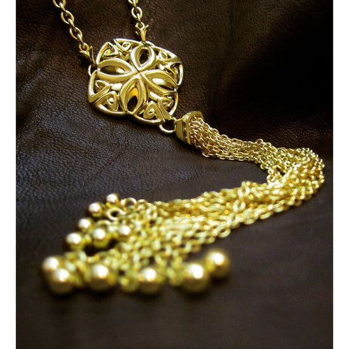 Insignia Delicat Y Necklace-Necklaces-REALM-JewelStreet
