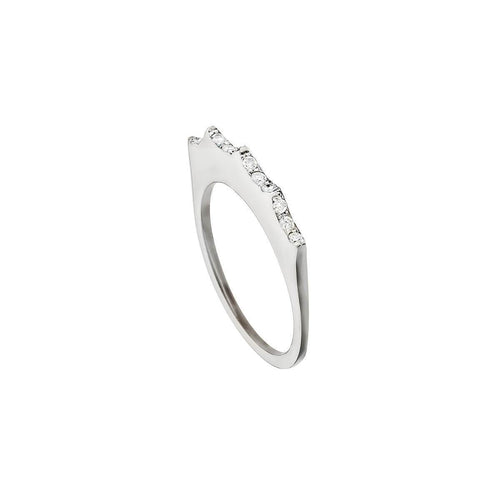 Isabel Ring White ,[product vendor],JewelStreet