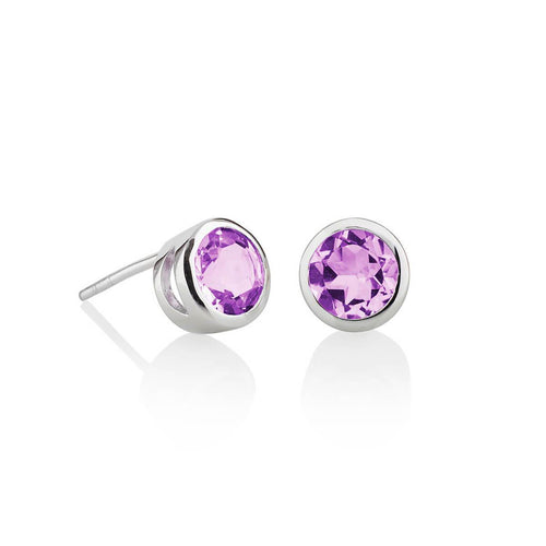 Juliet Amethyst Earrings ,[product vendor],JewelStreet