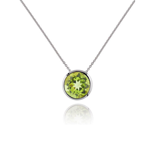 Juliet Peridot Necklace ,[product vendor],JewelStreet