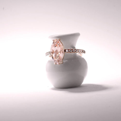 Marquise Rose Gold Ring ,[product vendor],JewelStreet