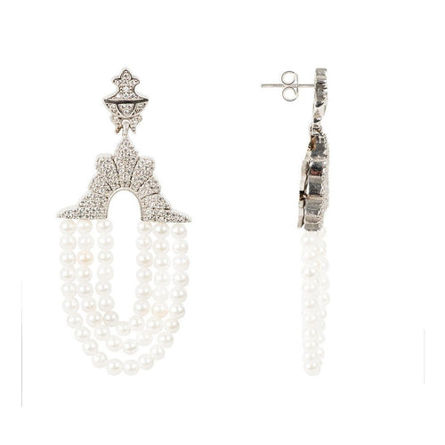 Marrakech Earring pearl-Earrings-Latelita London-JewelStreet