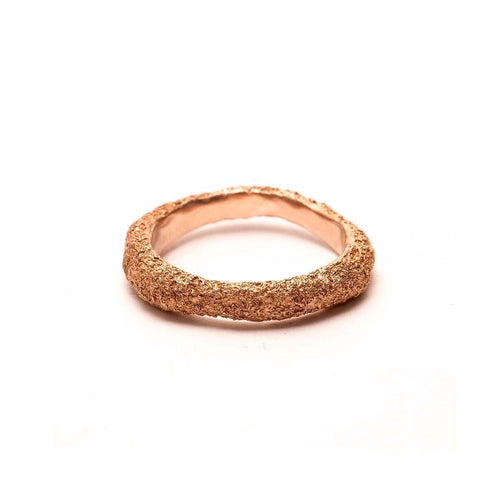 Mica Ring Rose Gold-Rings-L. Skelly Jewellery-JewelStreet