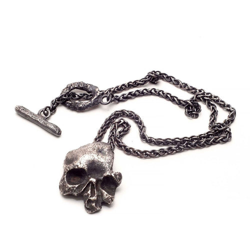 Mortem Morsum Necklace-Necklaces-L. Skelly Jewellery-JewelStreet