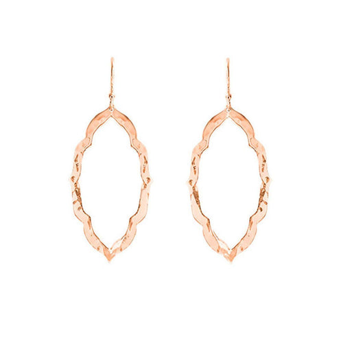 Nomad Drop Earrings In Rose Gold Plate ,[product vendor],JewelStreet