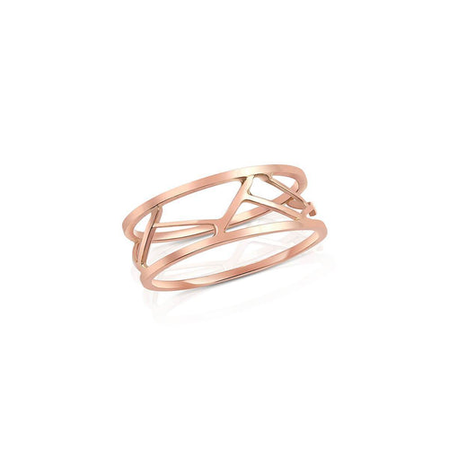 Pasha Ring in Rose Gold ,[product vendor],JewelStreet