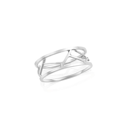 Pasha Ring in White Gold ,[product vendor],JewelStreet