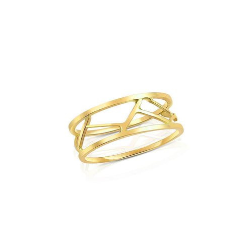 Pasha Ring in Yellow Gold ,[product vendor],JewelStreet