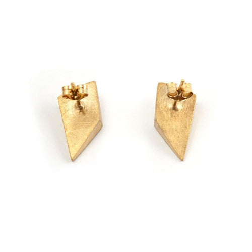 Shard Stud Earrings-Earrings-De Anna Kiernan-JewelStreet