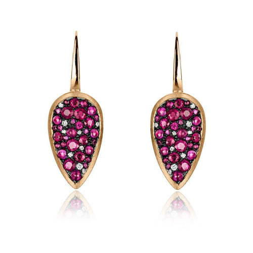 Starstruck Earrings With Rubies ,[product vendor],JewelStreet