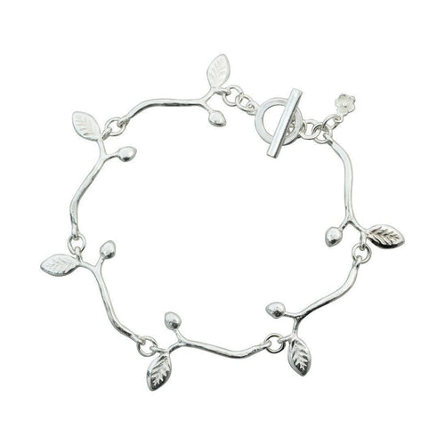 Branch Linked Bracelet-Bracelets-Bridget Wheatley Jewellery-JewelStreet