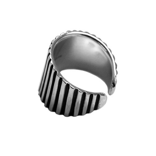 Sterling Silver DJ Ring ,[product vendor],JewelStreet