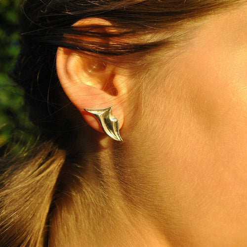 Sterling Silver Glacier Earrings ,[product vendor],JewelStreet