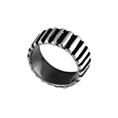 Sterling Silver Industrial 2 Ring ,[product vendor],JewelStreet