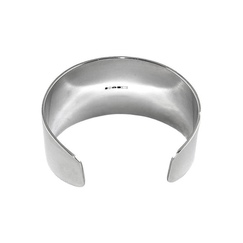 Sterling Silver Warrior Cuff Bangle ,[product vendor],JewelStreet