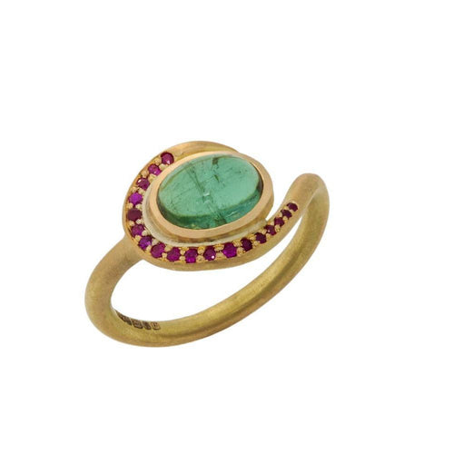 Swirl Ring-Rings-Farah Qureshi-JewelStreet