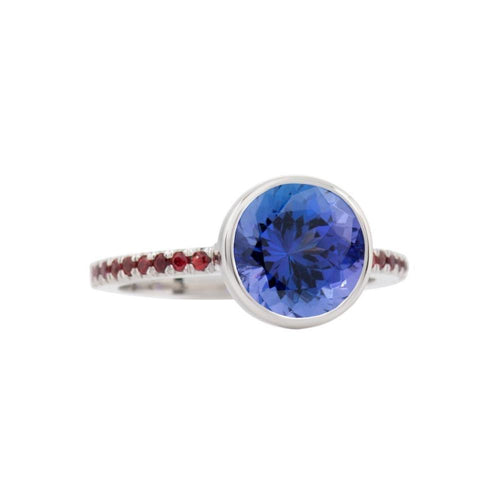 Tanzanite Jazz Ring-Rings-Biiju-JewelStreet