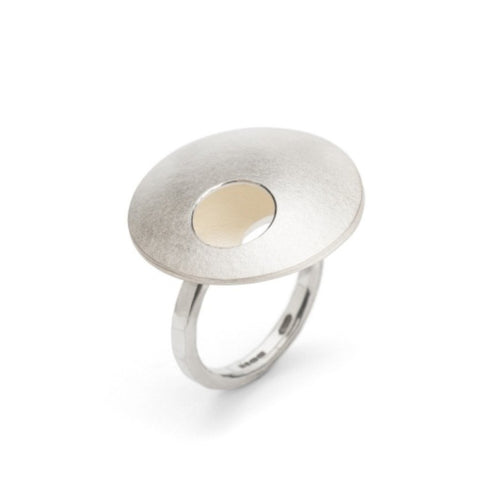 Textured Dome Rings-Rings-Hannah Souter-JewelStreet