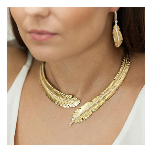 Tiki Diamond Collar-Necklaces-ROX - Diamonds and Thrills-JewelStreet