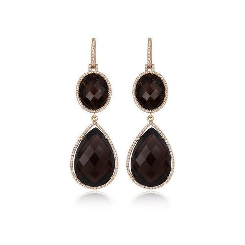 Tivon Cape Town Black Earrings-Earrings-Tivon Fine Jewellery-JewelStreet