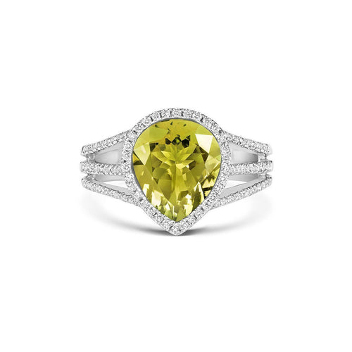 Tivon Yellow Gelati Ring-Rings-Tivon Fine Jewellery-JewelStreet