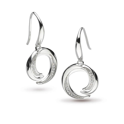 Twine Helix Pave Drop Earrings ,[product vendor],JewelStreet