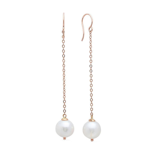 Viola Gold Pearl Drop Earrings-Earrings-Victoria Six-JewelStreet