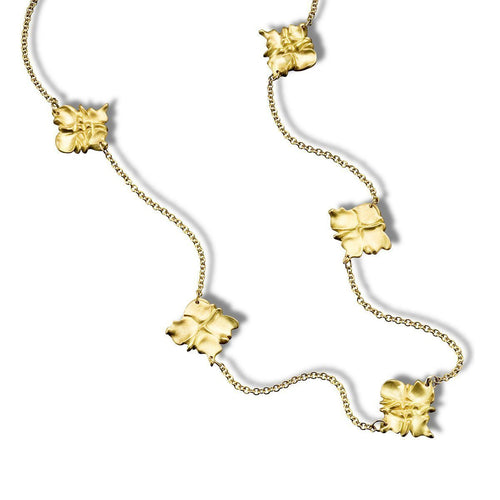 Moroc Square Medallion Necklace-Hazel NY-JewelStreet US
