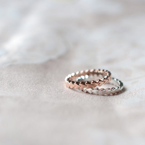 Sterling Silver Always Forever Eternity Ring ,[product vendor],JewelStreet