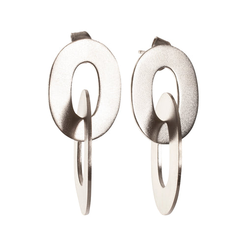 Sterling Silver Circus Earrings ,[product vendor],JewelStreet