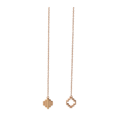 18kt Rose Gold Vermeil Baori Odd Couple Earrings ,[product vendor],JewelStreet