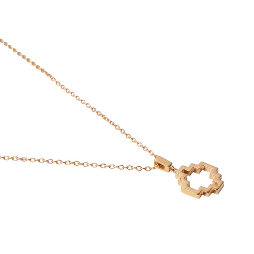 18kt Rose Gold Vermeil Baori One Silhouette Pendant ,[product vendor],JewelStreet