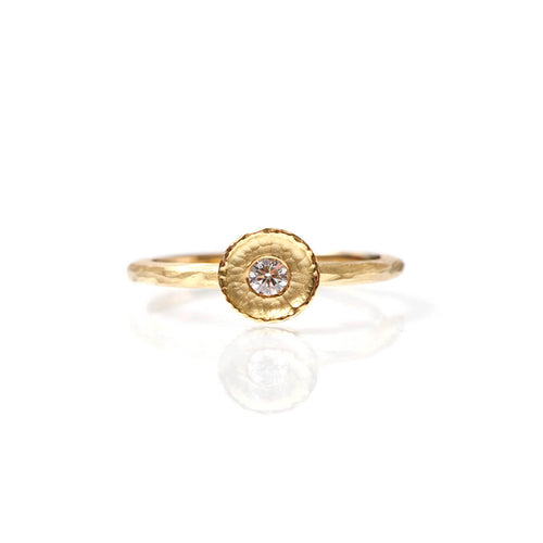 18kt Yellow Gold Lily Ring ,[product vendor],JewelStreet