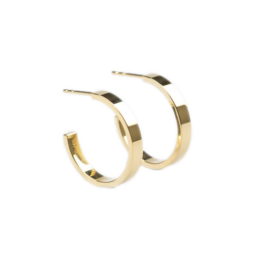 14kt Yellow Gold Essential Hoops ,[product vendor],JewelStreet