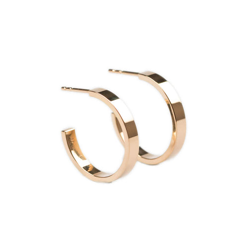 14kt Rose Gold Essential Hoops ,[product vendor],JewelStreet