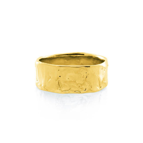 Yellow Gold Plated Eternal Flame Ring ,[product vendor],JewelStreet