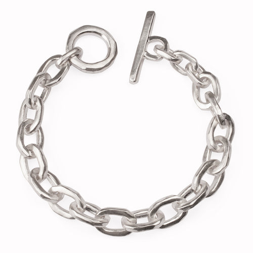 Sterling Silver FatCat Anchor Bracelet ,[product vendor],JewelStreet