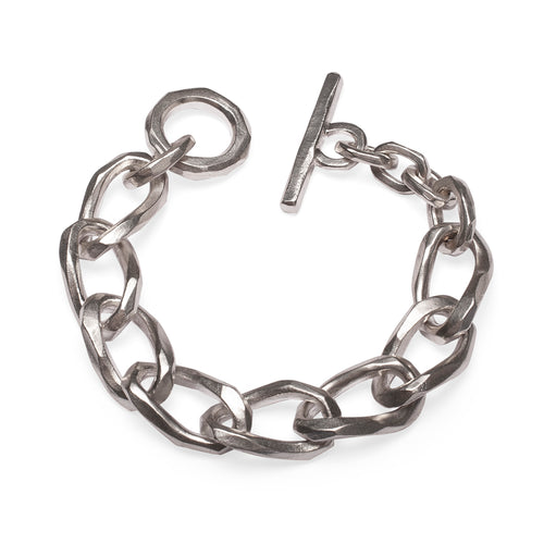 Sterling Silver FatCat Twisted Bracelet ,[product vendor],JewelStreet