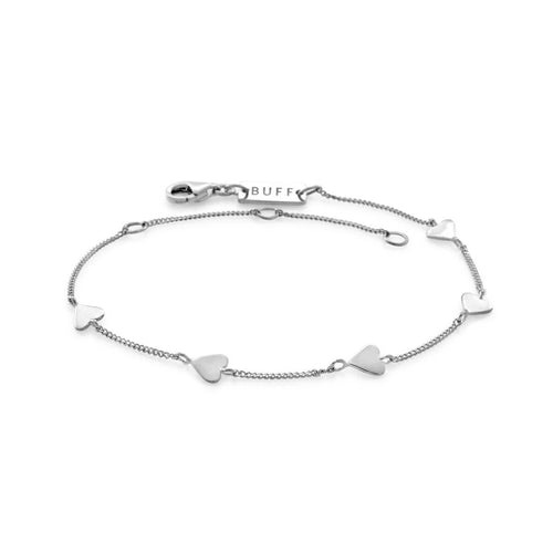 Sterling Silver Five String Serenade Bracelet ,[product vendor],JewelStreet