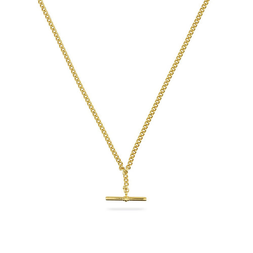 De Beauvoir One Gold Necklace