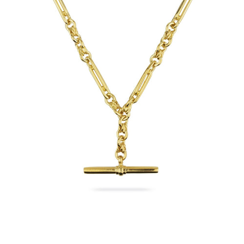 De Beauvoir Two Gold Necklace
