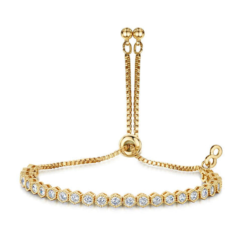 Yellow Gold Plated Anya Bracelet II