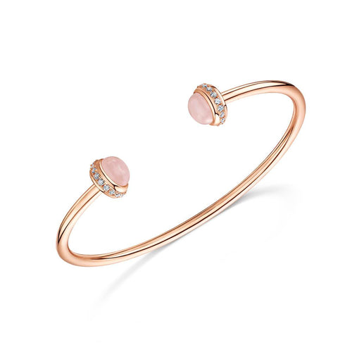 Rose Gold Plated Rosanna Cuff Bracelet